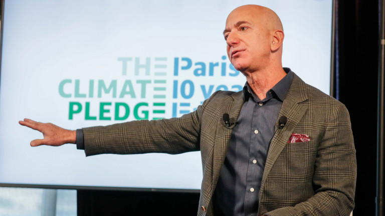 Как Безос ще спасява климата