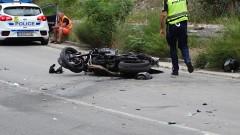 Моторист пострада след удар в ТИР на входа на Кресненското дефиле