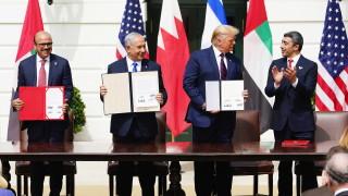 Мир между Израел, ОАЕ и Бахрейн