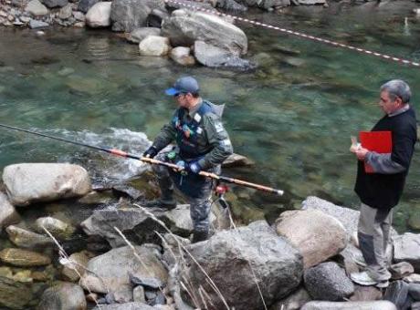 Осем отбора на световното по улов на пъстърва в река Чая