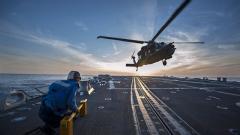 Американски военен хеликоптер се разби край Йемен