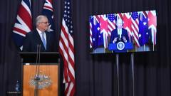Австралия скъса споразумението за подводници с Франция, Париж бесен