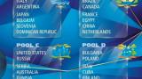 """Класиране в група """"D"""" нa Световното първенство по волейбол 2018"""