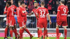 Байерн (Мюнхен) се върна към победите след 3:1 над Хановер