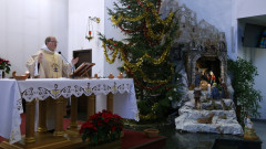 Католическата енория в София отбелязва Рождество Христово с литургия на 4 езика
