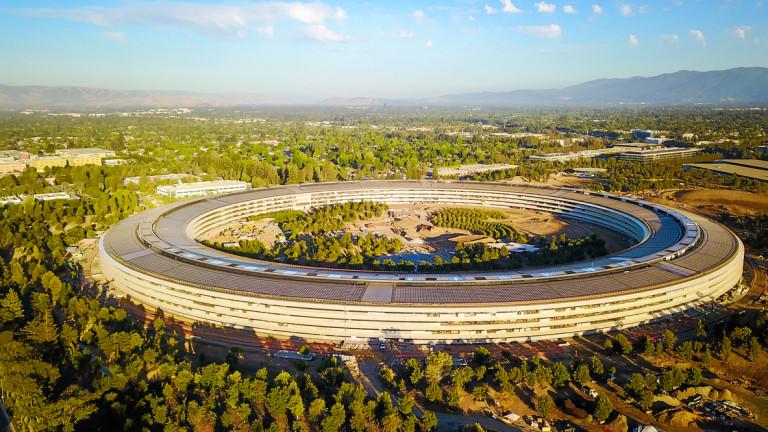 Apple вече притежава земя колкото Банкя