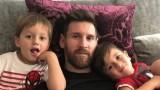 Меси за синовете си: Малкият е голям чешит, другият поиграе малко футбол и се уморява