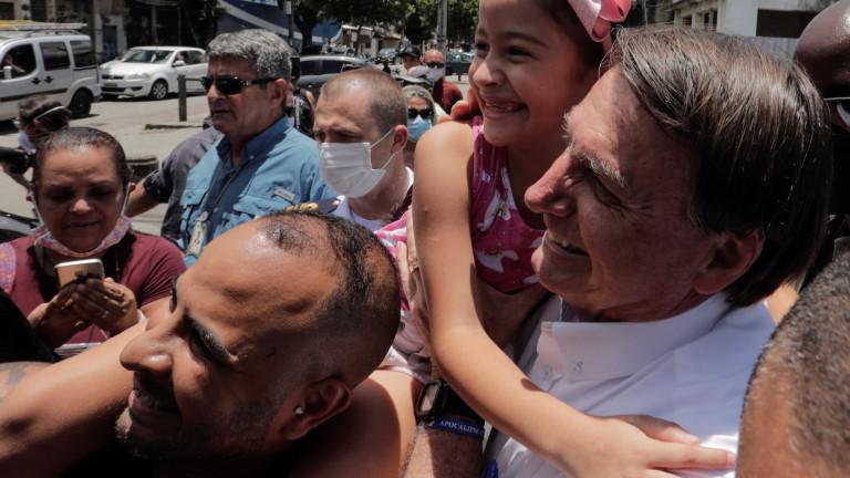 Президентът на Бразилия Жаир заяви, че неговото правителство не може
