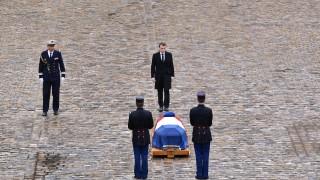 """Макрон: Белтрам олицетворява """"френския дух на съпротива"""""""