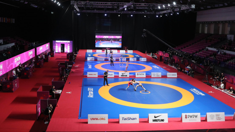 Медалистките от Евро 2021 по борба се прибират днес