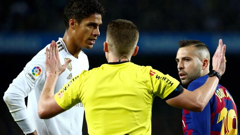 Барселона 0 : 0 Реал Мадрид 45′ ИГРАТА СЕ ПОДНОВЯВА!