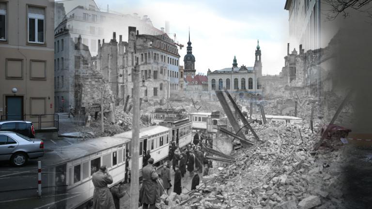 Германските власти са евакуирали централната част на източния град Дрезден,