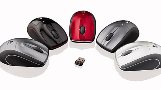 Logitech представи безжичната лазерна мишка V450 Nano