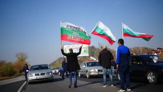 Глобяват 13 шофьори, блокирали пътя Добрич - Варна