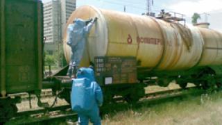 Спасители от МИС неутрализираха разлив на солна киселина