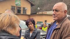 Борисов и Нанков огледаха от джипа пътя Кричим - Михалково