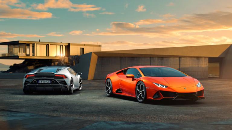 Снимка: Lamborghini представи новия Huracan Evo