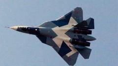 Топ изтребител Су-57 се разби в Русия