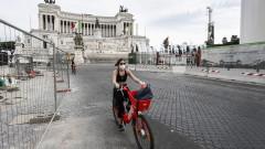 Велосипедите в Европа предотвратяват струпване в градския транспорт