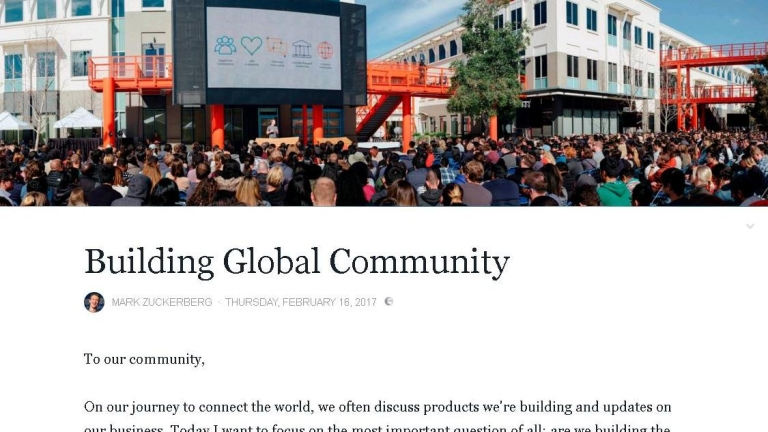 Марк Зукърбърг сподели плановете си за социална глобализация