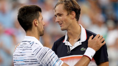 Медведев победи Джокович и е на финал в Синсинати
