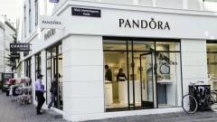 Pandora ще използва само рециклирани злато и сребро за бижутата си