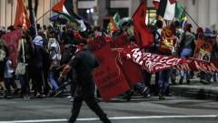 45 милиона бразилци протестират срещу пенсионната реформа
