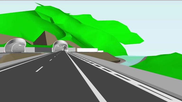 Снимка: Започна изграждането на най-дългия пътен тунел в България