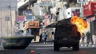"""Повече от 50 палестинци ранени по време на """"Деня на гнева"""""""