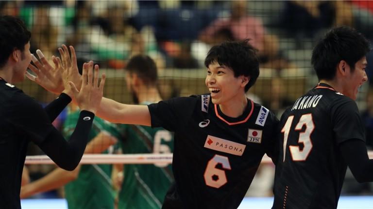 Японският национален отбор по волейбол постигна втора поредна победа във