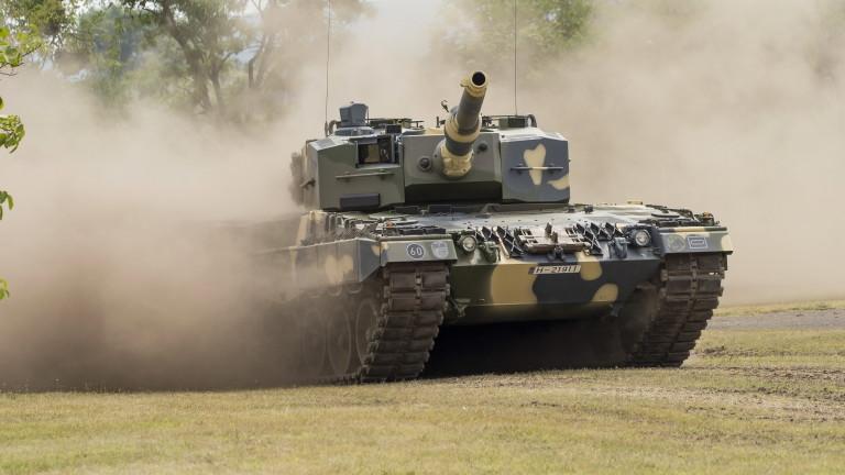 Унгария получи първата партида от четири употребявани германски танка