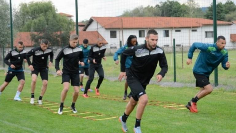 Чунчуков с първа тренировка в Черно море, готов е за Левски