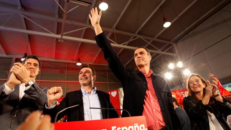 Испанските социалисти водят преди изборите, но подкрепата за крайно десните скача