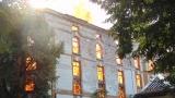 Арестуваха клошар за подпалване на тютюневите складове в Пловдив