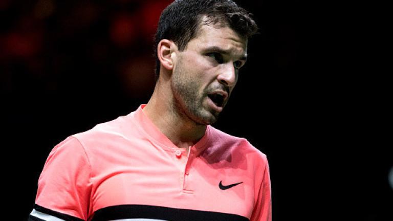 Най-добрият български тенисист Григор Димитров призна след победа над японеца