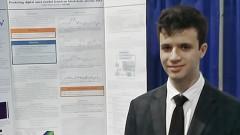 Наш ученик спечели стипендия от състезание за инженерство Intel ISEF