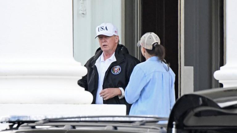 Колоездач показа среден пръст на Тръмп