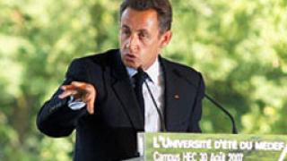 Саркози хвали властите за мерките срещу А (H1N1)