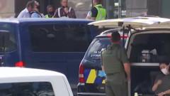 Украинската полиция задържа мъжа, взел заложник в киевска банка