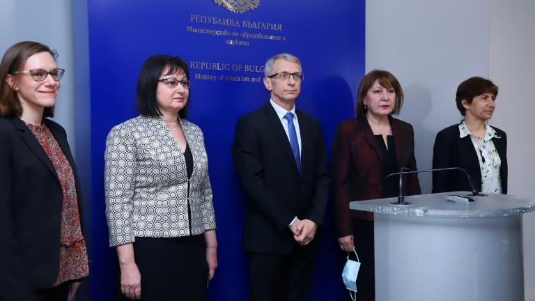 Четири приоритета пред МОН очерта служебният ресорен министър