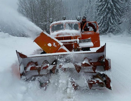 Четири от бедстващите области в жълто заради нови снеговалежи