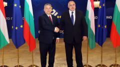 Орбан похвали Борисов, че си забил брадвата в голямо дърво