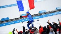 Мартен Фуркад изведе Франция до златото в смесената щафета
