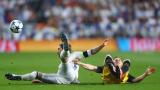 """Ударът с лакът на Серхио Рамос не попада в графата """"агресия"""", прецениха в УЕФА (ВИДЕО)"""