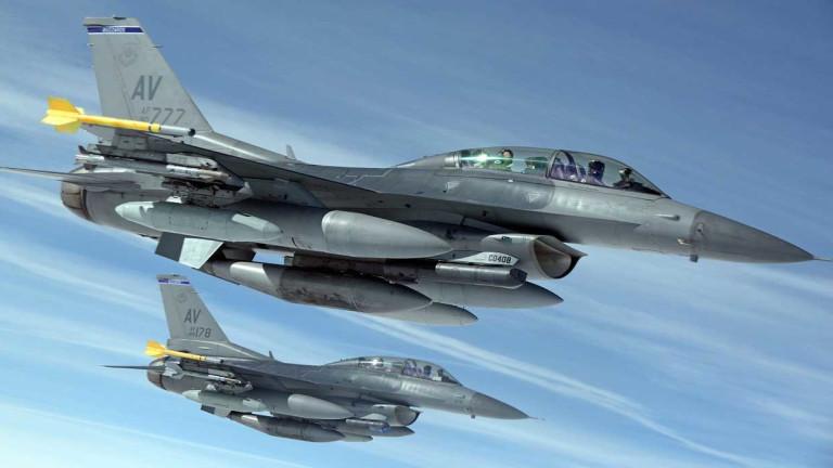 Изтребителите F-16 за България идват от Индия