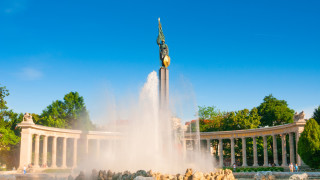 Паметникът на Съветската армия във Виена е под постоянно видеонаблюдение