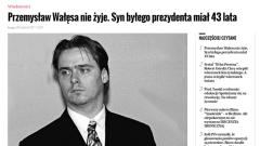 Почина един от синовете на Лех Валенса - Пшемислав