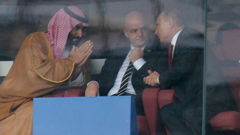 Путин планира среща с Мохамед бин Салман в Г-20