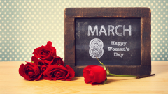 Честит 8 март, дами!