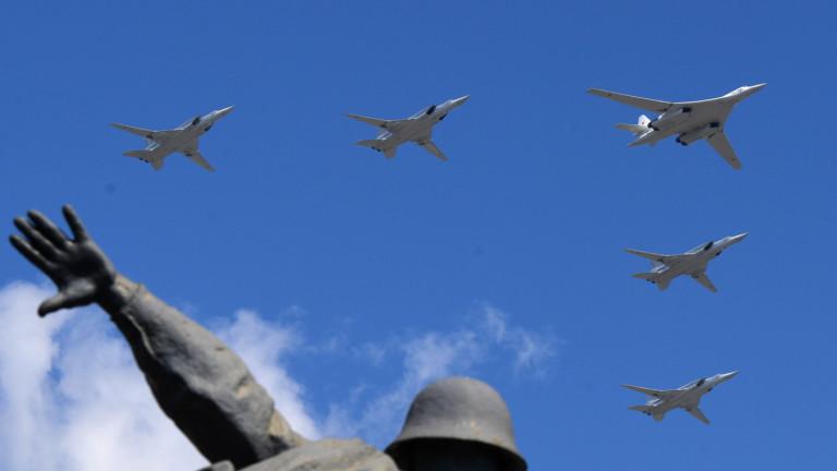 """Русия разположи ядрени бомбардировачи в авиобаза """"Хмеймим"""" в Сирия"""